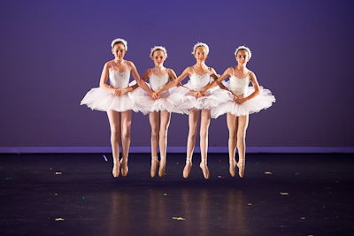 Swan Lake end of year performance with Anastasia's Ballet School at Glen Street Theatre in Sydney, Australia.