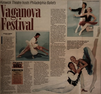 Vaganova Festival in Esmeralda and Swan Lake with Pavel Kambalov.
